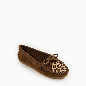Minnetonka leopard dusty brown lilly 8m